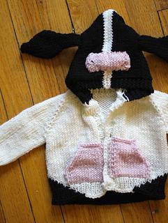 Ravelry: Little Animals: 5 Baby Sweater Knitting Patterns - patterns