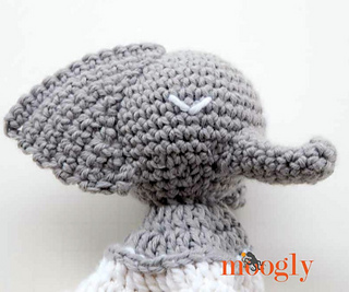 Ella The Elephant Free Crochet Pattern : Ravelry: Ella the Elephant Lovey pattern by Tamara Kelly