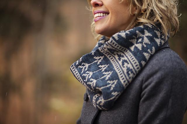 欧美范提花围脖-送闺蜜的新年礼物 - Tina - Tina的手工编织的博客