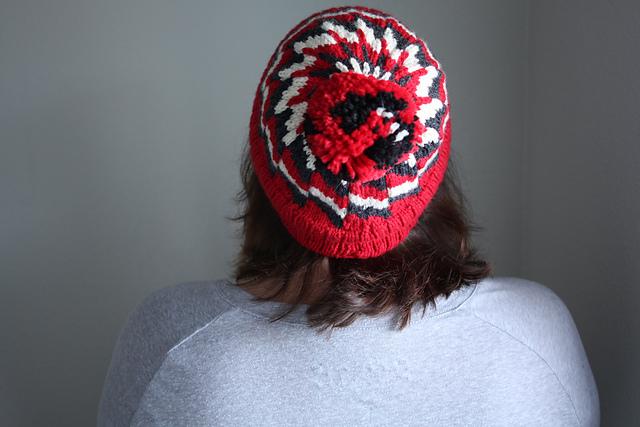 Fo Deadpool Inspired Knit Hat Threadpanda