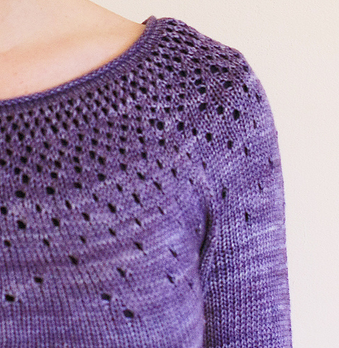How to knit a yarn over   DONNAROSSA