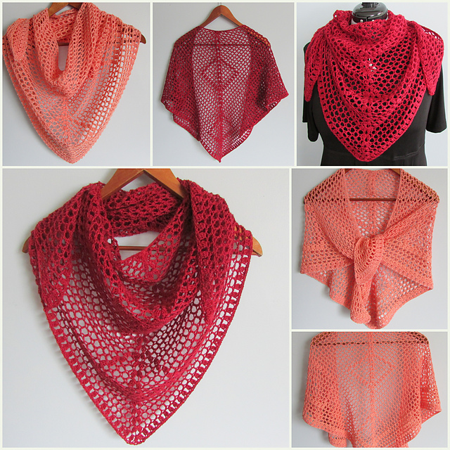 Nancy Drew Designs Super Quick And Easy Shawl Pattern