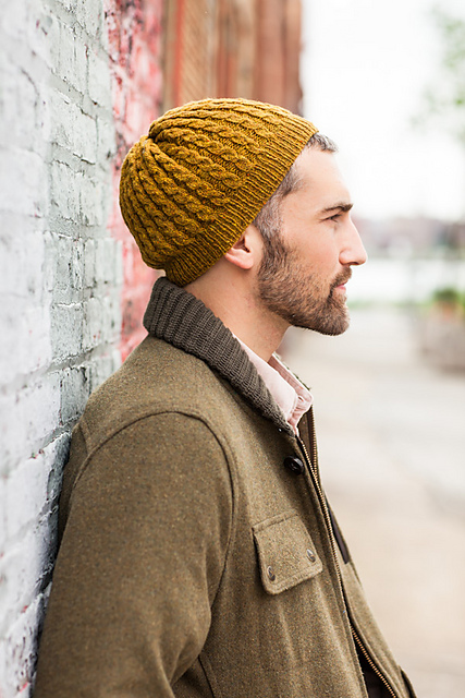 Gorro Eno diseñado por Jared Flood ©Brooklyn Tweed